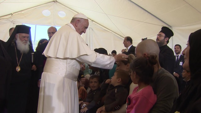 World Refugee Day: Pope Francis denounces situation of people forced to escape t