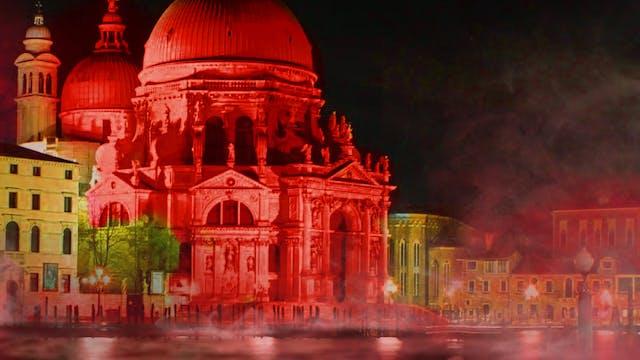 Venecia se tiñe de rojo para denuncia...