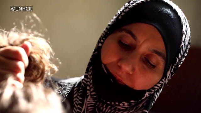 Refugiados sirios que escaparon sigue...
