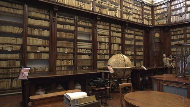World's oldest public medical library...