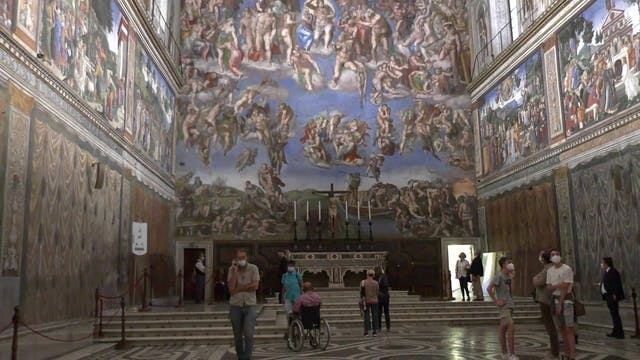 Vatican Museums reopen after lockdown