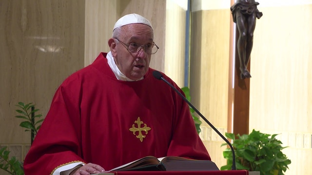 Papa en Santa Marta: El diablo siembra odio entre la gente