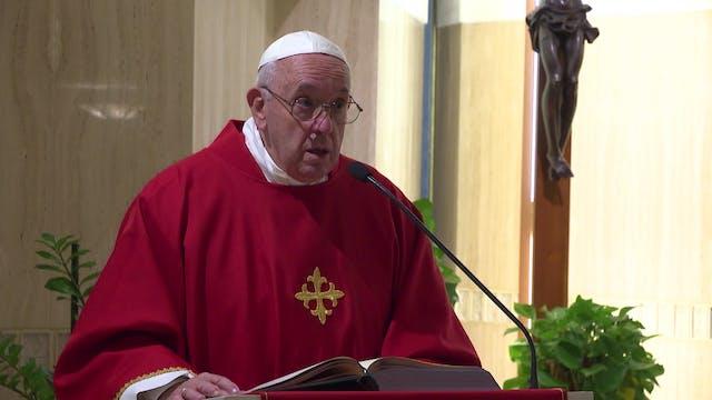 Papa en Santa Marta: El diablo siembr...