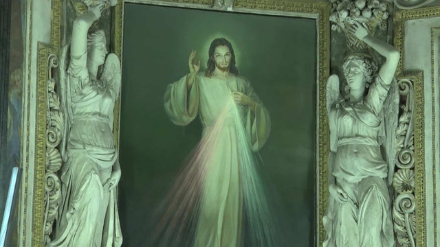 La curiosa historia del cuadro de la Divina Misericordia