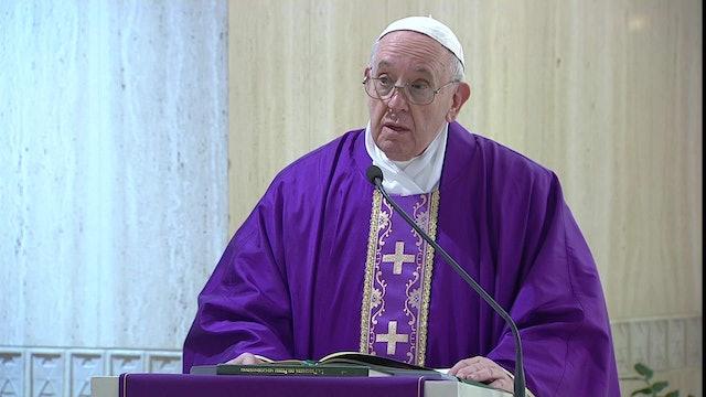El Papa reza por los presos en medio de la crisis por el coronavirus