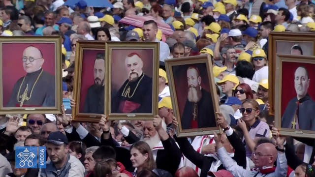 Pope beatified 7 bishops martyred by ...