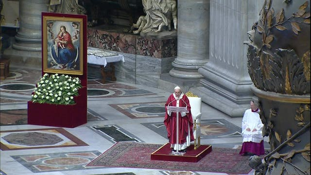 Pope Francis: Early Christians did no...