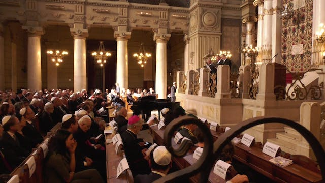 Concert in Rome's synagogue commemora...