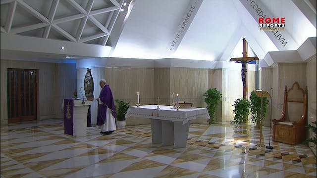 Pope at Santa Marta: Each of us is ch...