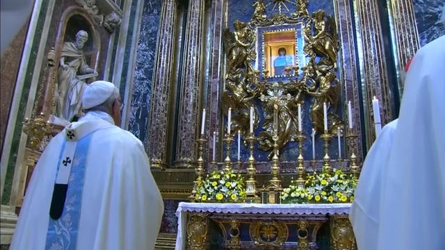 Places in Rome: Where the pope prays ...