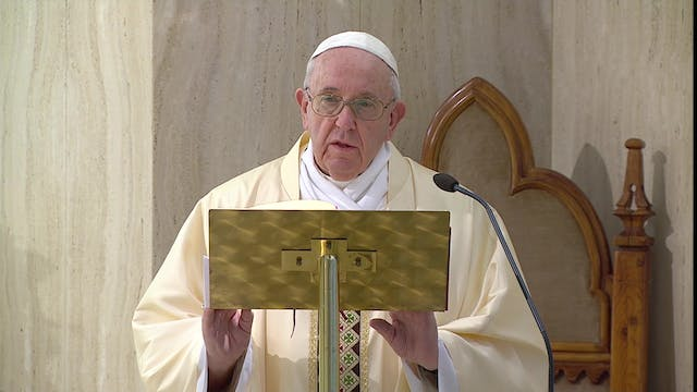 Pope Francis prays for students and p...