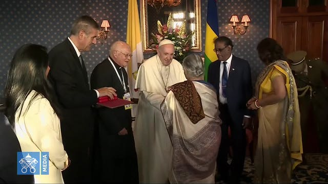 Pope to leaders of Mauritius: don't s...