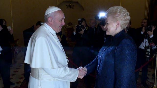 Six months after papal trip, Presiden...