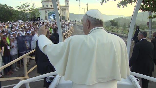El Papa Francisco viaja este miércole...