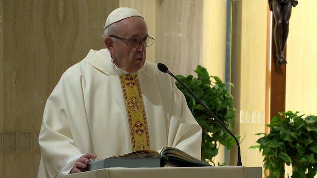 Papa en Santa Marta: ¿Nos preocupamos...