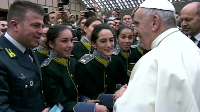 Pope Francis explains importance of s...