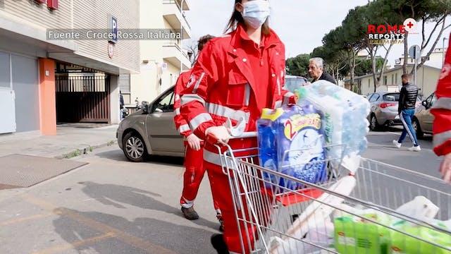 La Cruz Roja Italiana impulsa la soli...