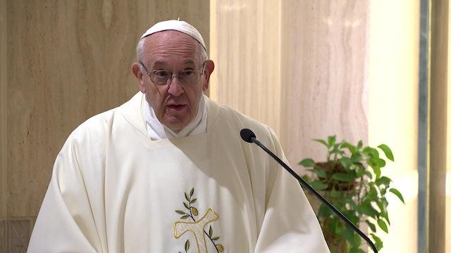 Papa en Santa Marta: Un sacerdote no es un empleado o funcionario, es un padre
