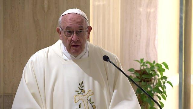 Papa en Santa Marta: Un sacerdote no ...