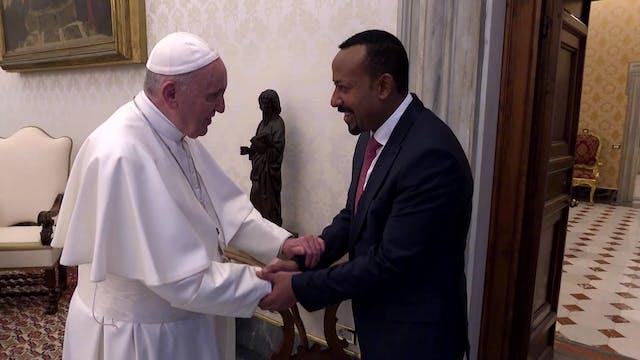 El Papa se reúne con el Primer Minist...