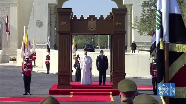 Pope invites Iraq to show the Middle ...