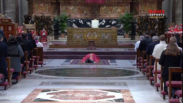 Francisco preside la Celebración de l...