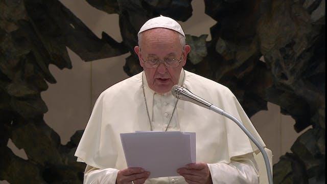 Pope to students: university implies ...