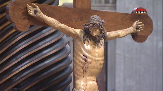La espectacular restauración del cruc...