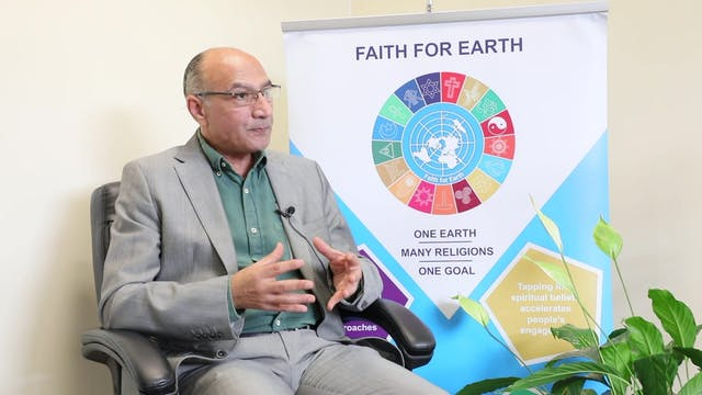 "Iniciativa ""Faith for Earth"" une a re..."