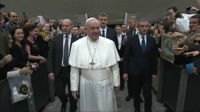 Pope Francis explains Jesus' way to t...
