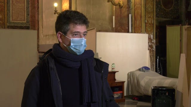 Church in Rome becomes homeless shel...