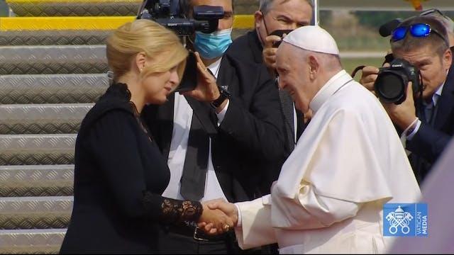 Papa Francisco se despide de Eslovaqu...