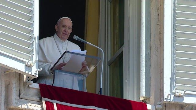 Papa pide cuidar a las personas, no s...