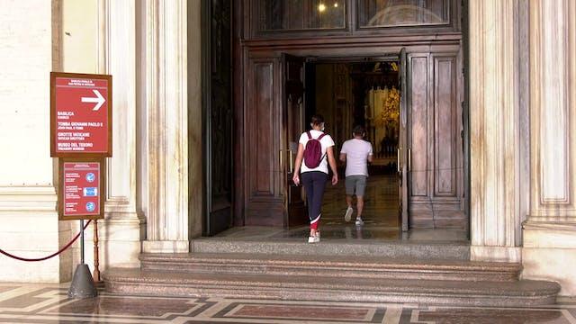 Reabre la basílica de San Pedro entre...