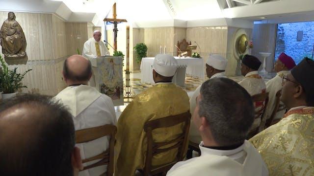 Papa en Santa Marta: Buscar nuevos ca...