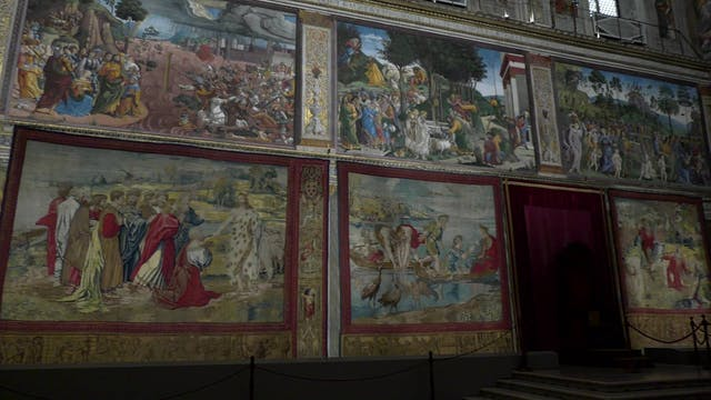 Vatican brings Raphael's spectacular ...