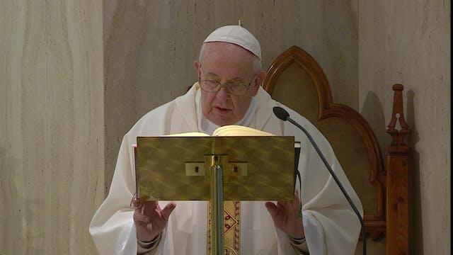 Coronavirus: Papa pide rezar por pris...