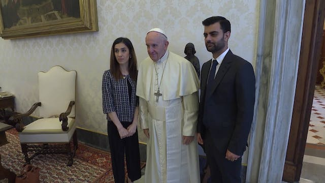 Pope Francis meets Nobel Peace Prize ...