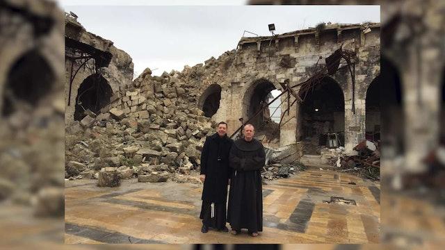 Franciscano en Rodas: Ayudamos a refugiados sin preguntarles su religión