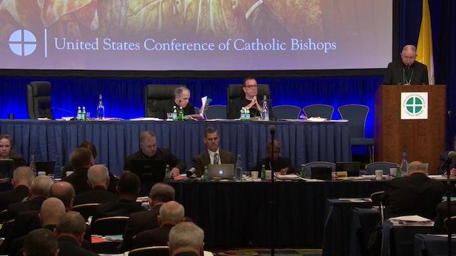 Obispos de EEUU agradecen al Papa la transparencia mostrada con Inf. McCarrick