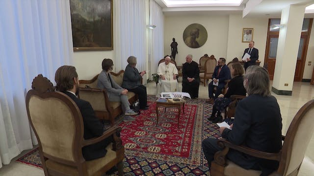 Pope Francis to American journalists:...