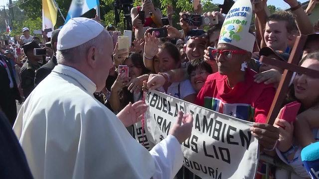 La abuela 'que arma lío' de la que el Papa habló a los obispos de centroamérica