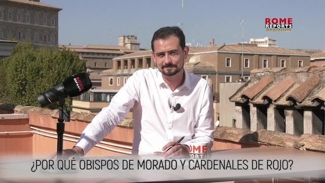 OBISPOS DE MORADO Y CARDENALES DE ROJO: ¿POR QUÉ?