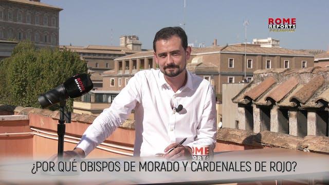 OBISPOS DE MORADO Y CARDENALES DE ROJ...