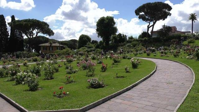 El gran jardín de Roma que tiene 1.10...
