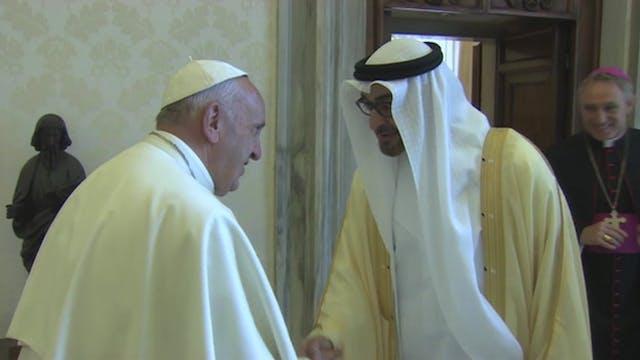 El Papa visitará Emiratos Árabes Unid...