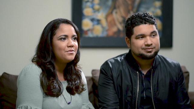 Ten years ago this couple's music help unite them