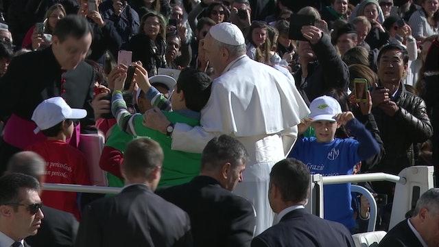 """Papa en audiencia general: """"El Padrenuestro es la oración por excelencia"""""""