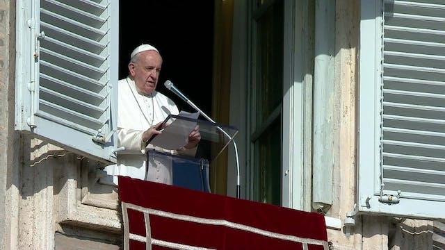 Papa en el Ángelus: Jesús no es un pe...