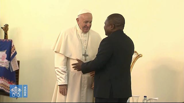 Pope in Mozambique supports peace pro...